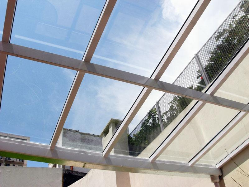 Techos vidriados dormax for Cubiertas transparentes para techos